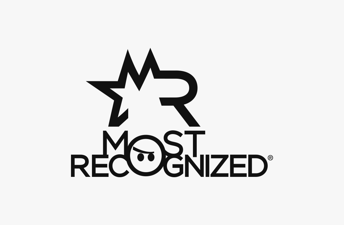 Most Recognized
